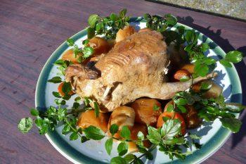 ジビエ料理 山鳥(やまどり)のロースト