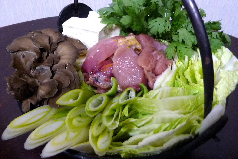 ジビエ料理 キジ鍋
